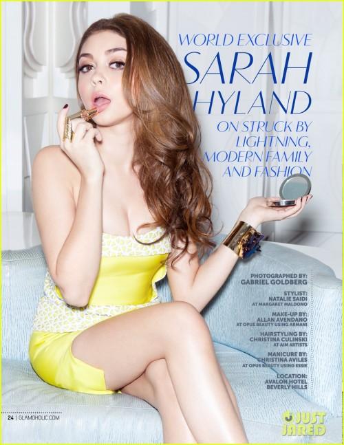 שרה היילנד מגזין